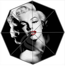 Hot Custom Marilyn Monroe Best Nice Cool Design Portable Fashion Stylish Useful Foldable Umbrella Free Shipping(China)