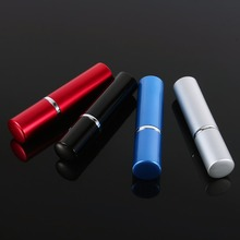 5ml Specialized Aluminium Perfume Atomizer Travel Portable Scent Spraying Bottle