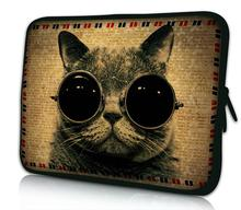 "15"" Cool Cats Laptop Sleeve Bag PC Carry Case Cover Neoprene Bag For 15.6"" Toshiba satellite L850-1RZ"