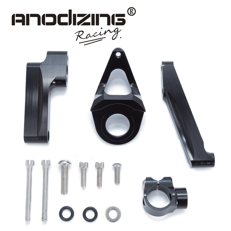 For SUZUKI GSXR1300 1998-2015 Motorcycles Adjustable Steering Stabilize Damper Bracket Mount Support Kit Accessories<br>