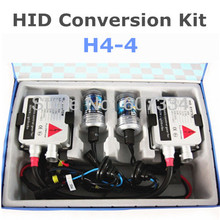 Stock Shipping New 12V/35W CE HID Xenon Conversion Kit (H4-4) Hi/Low by Xenon Lamp Swing(3000K/4300K/6000K/8000K) For Headlight