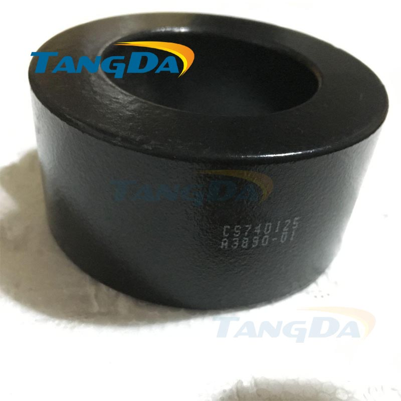 Tangda sendust FeSiAl KOOL MU toroidal cores CS740125 74*45.3*35 mm Wave filtering<br>