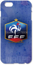 France National Team Soccer Mobile Phone Case For iphone 4 4S 5 5S SE 5C 6 6S 7 Plus For iPod Touch 4 5 6 Plastic Hard Cover