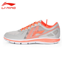 Li-Ning Women's Outdoor Breathable Running Shoes Li Ning Female Lace Up Anti-Slip Sports Sneakers ARBL094