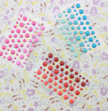 cute diy decotation enamel stickers 3D dots gift scrapbooking embellishments solid color(China)