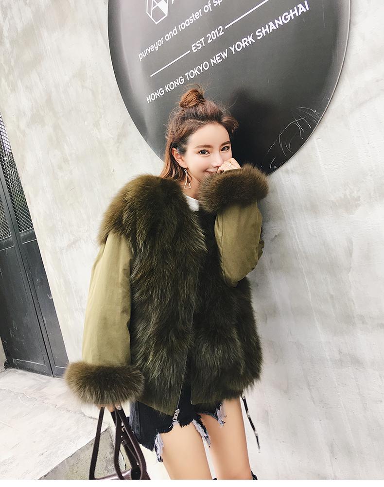 new styles fox fur jacket for women (22)