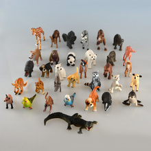 Starz Small Plastic Animals Simulation Children 's X-max Gift Containing Solid various kinds Fence Animales Toys For Kid