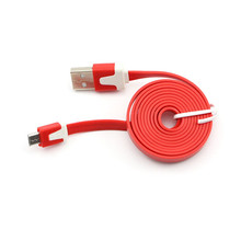 1M Flat Micro USB Data Charger Cable for Nokia for HTC Evo One for Samsung Galaxy Note Tables