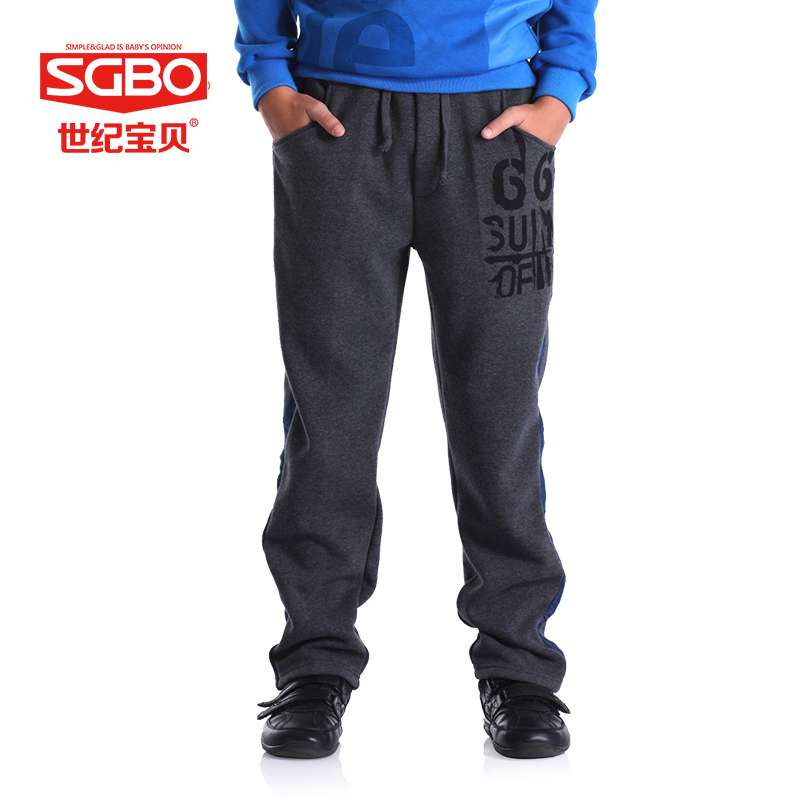 Pantalones Boys Pants with Elastic Waist Cotton Boys Trousers Best Quality Boys Joggers Kids Clothes Autumn Retail 9A1215<br><br>Aliexpress