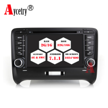 Aycetry For Audi TT 2 Din HD Touch Screen Car DVD Player Android 7.1 Radio stereo WIFi 4G GPS navi Audio In-dash Mic TDA 7851