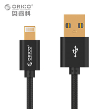 ORICO LTF-10 for lightning to usb cable data sync charger cable for iPhone 6 6s iPad 4 mini 2 3 Air 2 iOS 9 Black/ Gray/ Golden