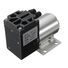 1pc Mini Vacuum Pump 12V 6W High Pressure Electric Diaphragm Pump with Holder 5L/min(China)