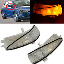 CAPQX High quality Rearview mirror LED turn signal light lamp OEM 34300-SNB-013 For CIVIC FA1 FD1 FD2 2006-2011 Right Left(China)