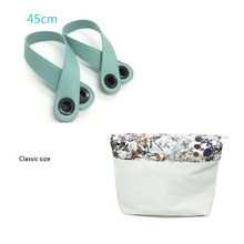 1 piece Colourful Insert Lining Inner Pocket and handle For Classic Big Obag women's should bags Totes Handbags(China)