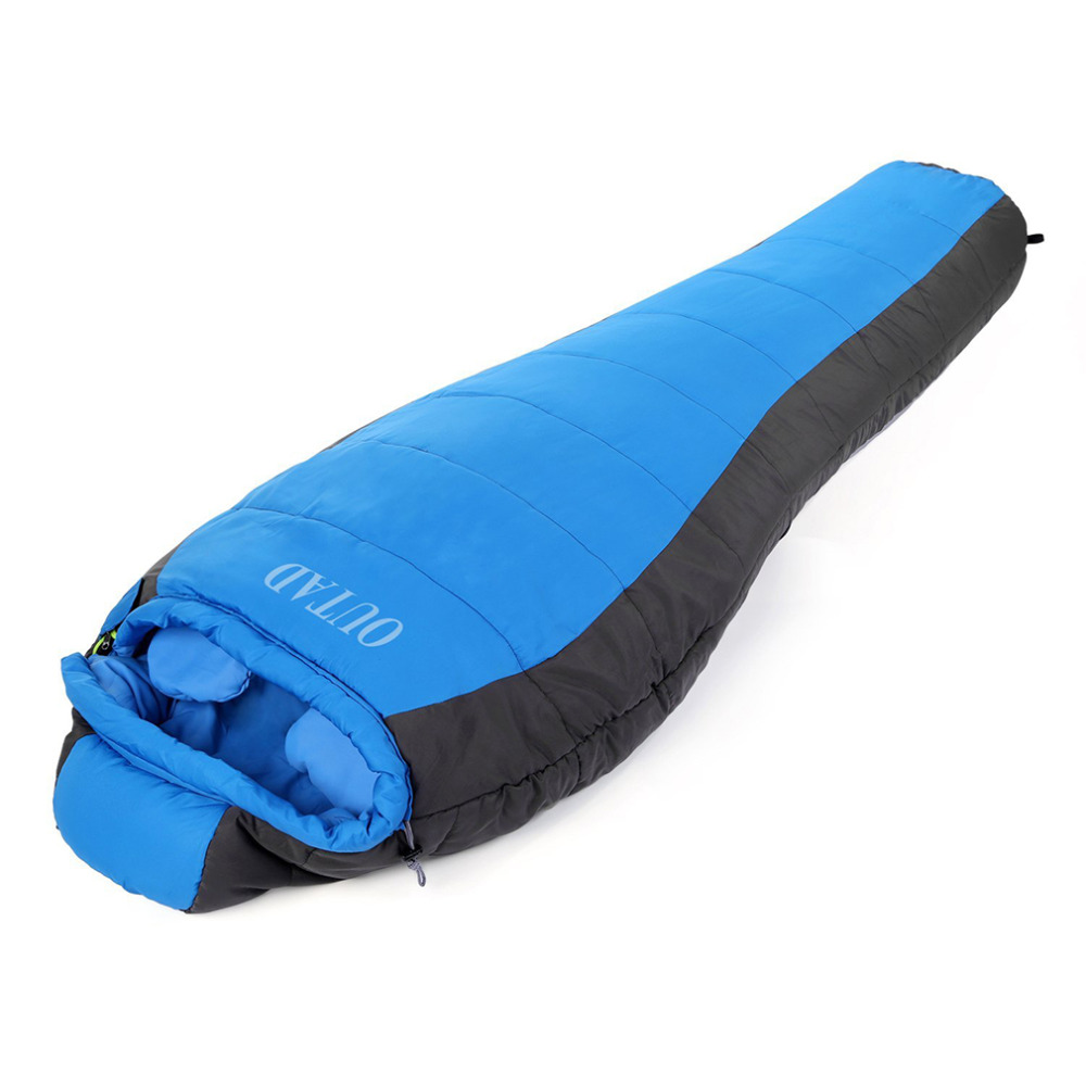 Women Men Outdoor Winter Camping Waterproof Warming Single Sleeping Bags Free Shipping New Style<br>