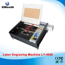2017 Laser engraver 4040 with 50W CO2 laser tube equips with honey comb(China)