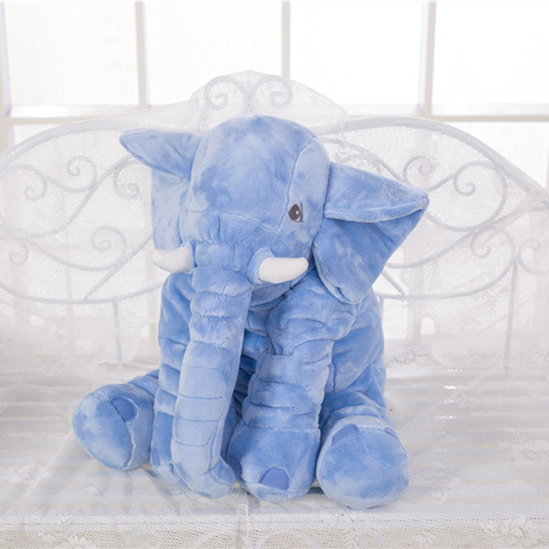 Giant Baby Elephant Plush Toy Soft Stuffed Animal Toys Peluche Pillow Kids Toy Children Room Bed Home Decor <br>