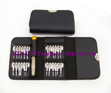25pcs/set portable Professional disassemble screwdriver tool set kit for removable notebook flat PC phone LCD