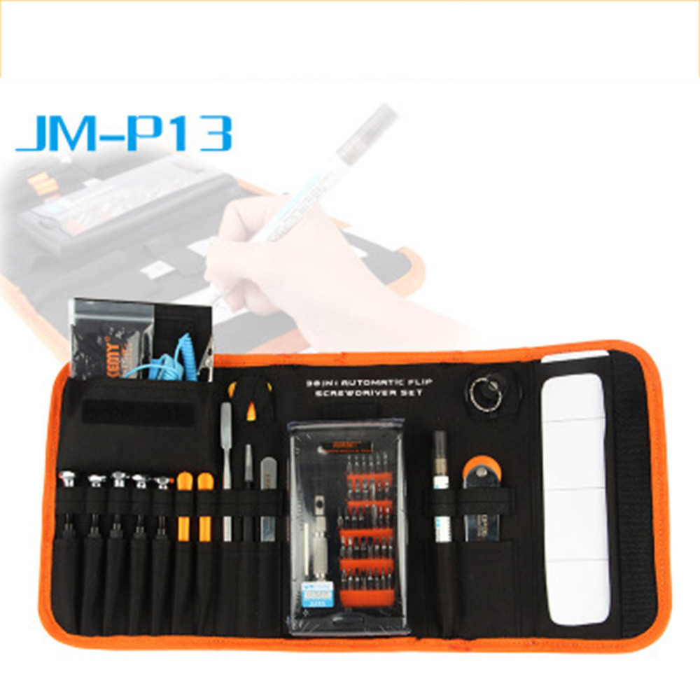 JAKEMY Screwdriver Set Smartphone Laptop Computer Electrical Home Furniture Repair Precision Screwdriver+Opener Tool Kit<br>