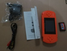 50% shipping fee 5 pieces 2.7 Inch TFT LCD PVP Portable Handheld Game Console Enclosed A Game Cassette With 999999 Games