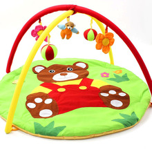 kids Baby Soft Play Game Mat Baby Carton Educational Crawling Mat Play Gym Kids Blanket Carpet Toys Animal Mat for new born