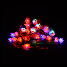 10pcs or 1pcs LED Finger Lights Glowing Dazzle Colour Laser Emitting Lamps For Kids Toys