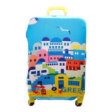Waterproof Elastic Luggage Cover Cartoon Trolley Suitcase Student Kid Protect Dust Bag Case Travel Accessories Supplies(China)