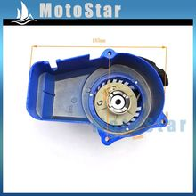 Blue Alloy Minimoto Pull Starter Recoil For 2 Stroke 47cc 49cc Engine Pocket Bike Dirt Kids ATV Quad Crosser 4 Wheeler Mini Moto