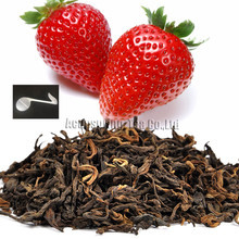 Beautiful Tea strainers+gift Strawberry Flavor Puerh Tea,Fruit flavor Loose Leaf Pu'er,Slimming Ripe Pu-erh,CTX807
