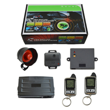 SPY Universal Two Way Remote Engine Start Car Alarm System with Anti Theft Keyless Entry Central door Locking & Trunk Release Pr(China)