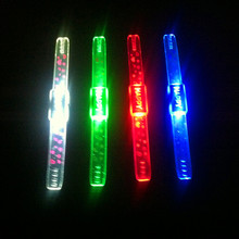 20pcs/lot HAPPY led Flashing wrist band led bracelet glowing light up toy for concert bar KTV party decoration