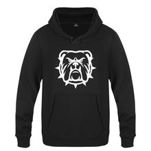 Mens Hoodies Bulldogge Printed Hoodie Men Brand Fleece Long Sleeve Men's Sweatshirts Autumn Winter Skate Pullover Man's Gown Hot(China)