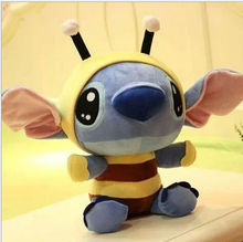 1Pcs Stitch Plush Toys 20cm Kawaii Lilo and Stitch Cosplay Bee Soft Stuffed Animal Doll Stich Plush Toys Gifts for Children
