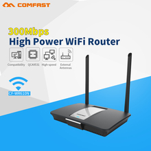 Comfast CF-WR610N 300Mbps high power wireless wi fi router with 14dBi Antenna AC controller+wireless router mode QCA9531 chipset(China)