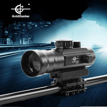 Newest 3x42 optical zoom 5 mode red and green dot sight riflescope hunting gunsight for gun camera bird waching