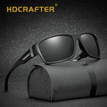 HDCRAFTER Homens Polarizada Óculos de Sol Óculos de Visão Noturna De  Condução óculos de Sol Óculos de Sol Quadrados Para O Sexo . 65fa9e2b00