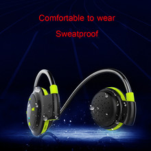 PLUFY Bluetooth Wireless Headset TF Card Sport Headphones Earplugs Music Earphone Noise Cancelling Earphones Phone - NAOI Factory outlets store