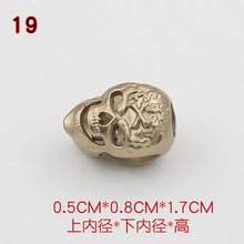 Free shipping 10pcs/lot clothes cord end metal stopper down jacket clothing accessories(China)
