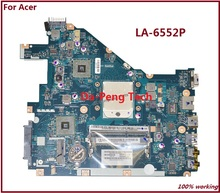 Laptop Motherboard FOR ACER Aspire 5552G NV50A MBR4602001 PEW96 L01 LA-6552P 100% TSTED GOOD(China)