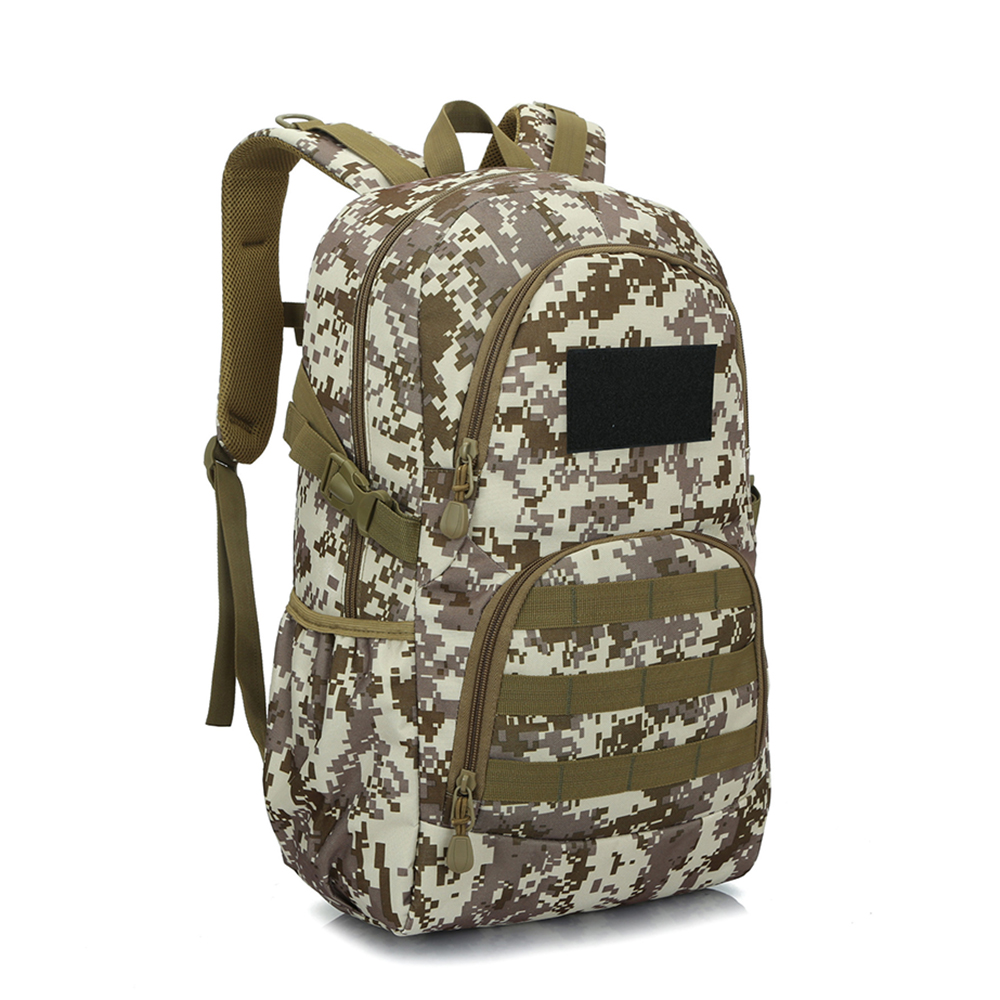 Outdoor Waterproof Portable Climbing Camouflage  Protection Shoulder Bag Male and Female Students Sports Backpack<br>