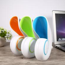 Mini USB Portable Air Conditioner Fan Desktop No Leaf Bladeless Cooling Cooler Handheld Sea Snail Air Quanity Improve