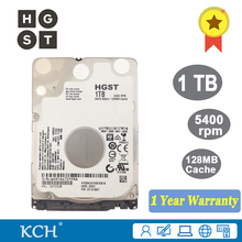Original HGST Laptop Hard Drive 1TB 2.5 inches 5400rpm 128MB Cache SATA III 1000GB 7mm HDD(China)