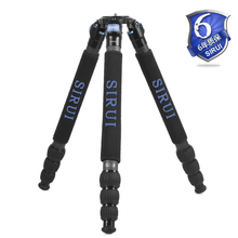 Free shipping Carbon fiber camera tripod Light weight Sirui R-5214X professional camera stand with 3 gifts UV filter band(China)