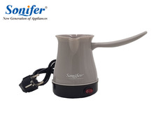 Colorful mini Coffee Machine Turkey Coffee Maker portable Electrical Coffee Pot Food Grade Coffee Kettle Sonifer(China)