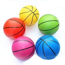 20cm Dia Mini Children Basketball Ball Toy High Bounce Soft Basketball For Kids Exercise Stress Relief Toys Basketball 1 pc
