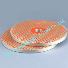 "2pcs/lot Factory Selling 6"" 180# Diamond glass Grinder Disk for grinding glass Grinder Machine(China)"