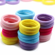 #AD0044 24pcs/lot 1.6 Inch Hair Elastics Hair Accessories High Elastic Bands For Hair Women/Children Neon Candy Color Rezinochki