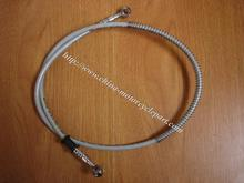Scooter Moped performance Stainess steel wire braided Front Hydraulic Brake Hose Brake Line Brake Tubing 1m long