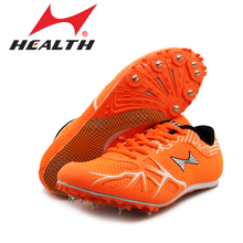HEALTH166 track and field sprint spikes running shoes for students running examination nail professional game shoes