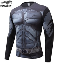 Buy Compression Shirt Batman VS Superman 3D Printed T-shirts Men Raglan Long Sleeve Cosplay Costume Fit Clothing Fitness Tops Male for $5.63 in AliExpress store